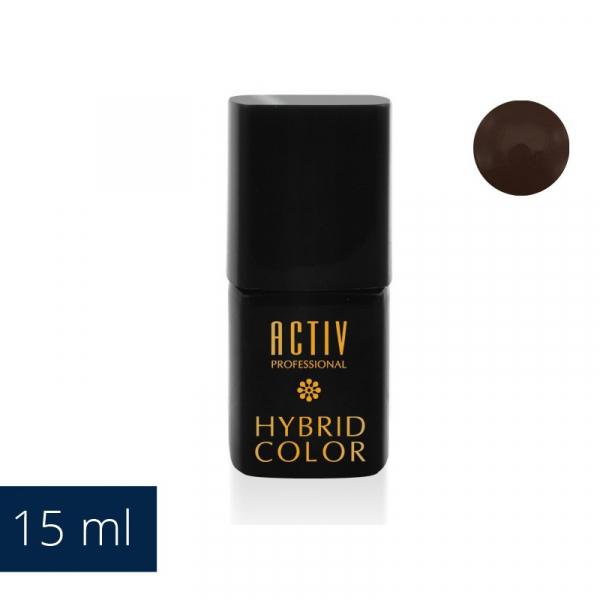 Lakier Hybryd UV LED 21 Brown Eyed Girl Ciemny Brąz 15ml #1