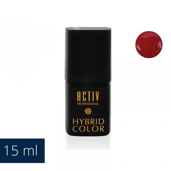 Lakier Hybryd UV LED 22 Hot Tub Hotties Soczysta Czerwień 15ml #1