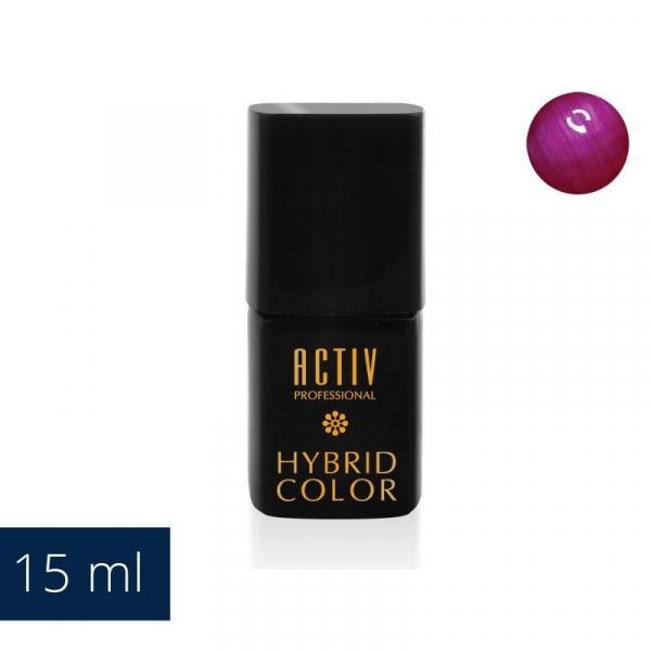 Lakier Hybryd UV LED M13 Lady Luck Fuchsia Fioletowy Róż 15ml #1