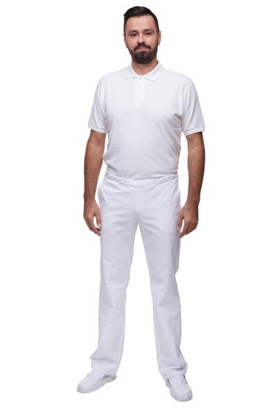 Spodnie M7623 GS Białe #1