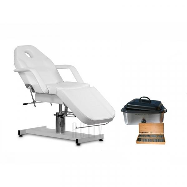 Zestaw Fotel 210 + Podgrzewacz I Kamienie 18 Litrów Kompl. #1