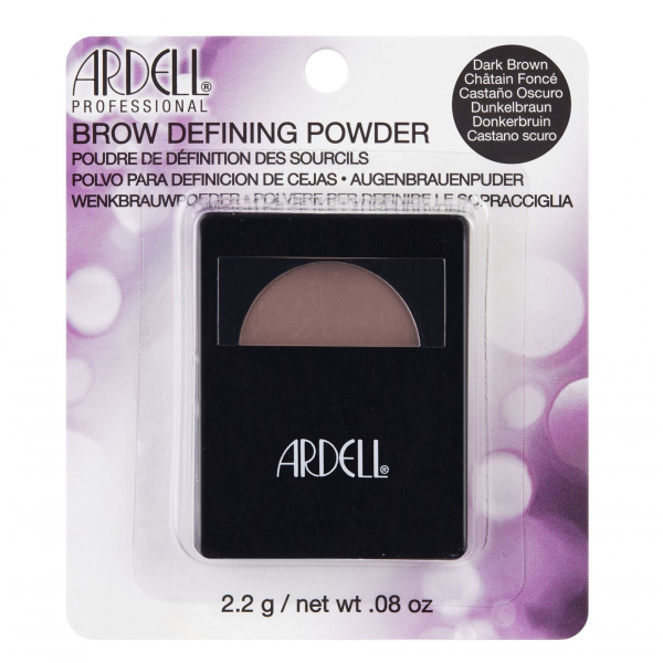 Ardell Brow Powder Dark Brown - cień do brwi #1