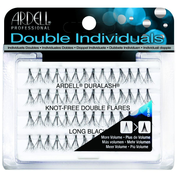 Ardell DOUBLE Individual Naturals Long Black #1