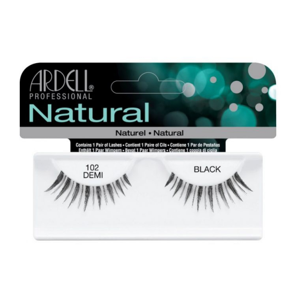 Ardell Natural #102 DEMI BLACK #1