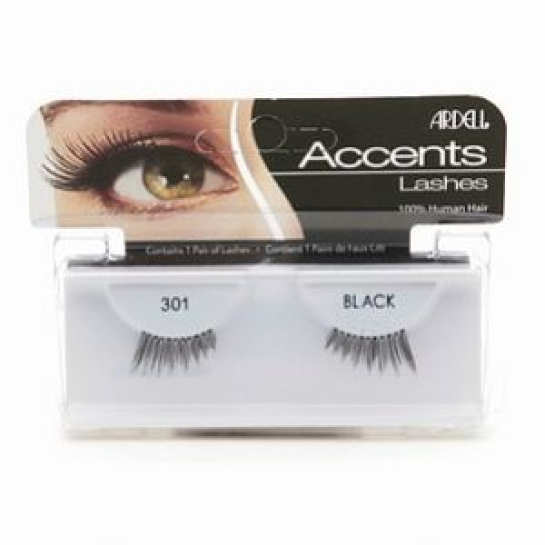 Ardell Rzęsy Accents #301 Black #1