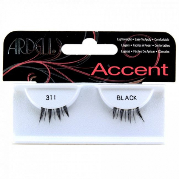 Ardell Rzęsy Accents #311 Black #1