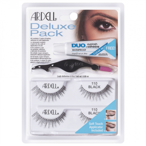 Ardell Rzęsy Deluxe Pack 110 Black #1