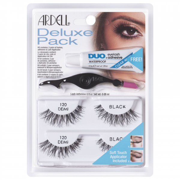 Ardell Rzęsy Deluxe Pack 120 Black #1