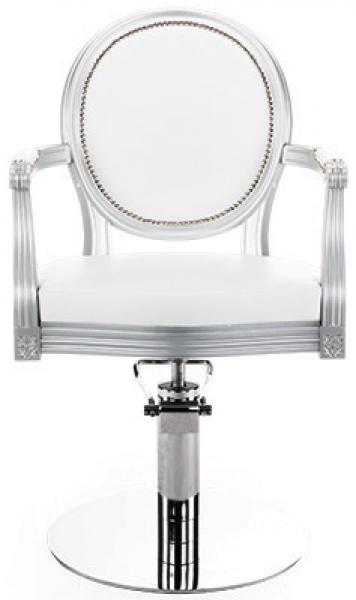 Fotel Fryzjerski Royal Lux Na Pompie Hydraulicznej #1