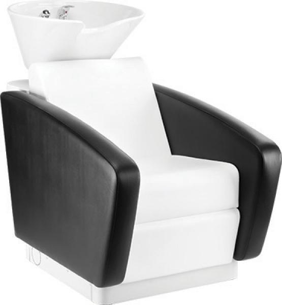 Myjnia Fryzjerska Rialto Misa Biała Z Podnóżkiem #1