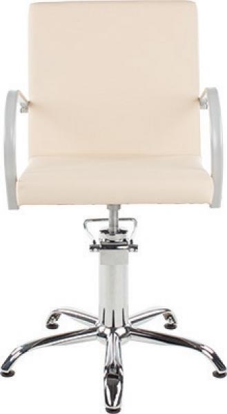 Fotel Fryzjerski Pik Beżowy W 48h #1