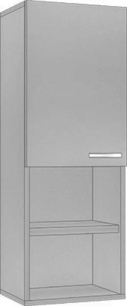System Modułowy SGWP 40 Szafka Górna Wysoka 110cm, Płyta Zwykła #1