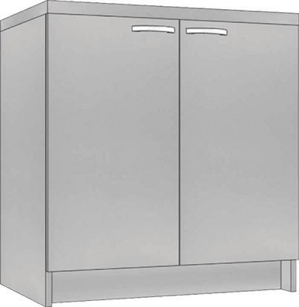 System Modułowy SD 60 Szafka Dolna, Płyta Zwykła, szerokość 60 cm #1