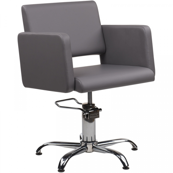 Fotel Fryzjerski Lea Czarny Baza Pająk W 48h #1