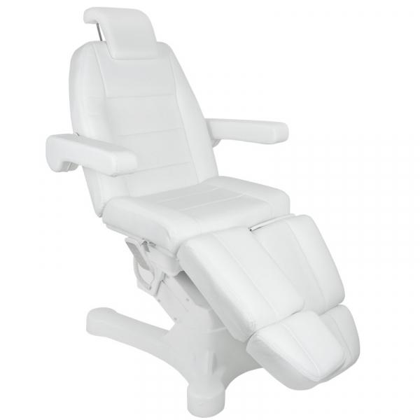 Fotel Kosmetyczny Elektr. A-207c Pedi White/Ivory (5 Silników) #1