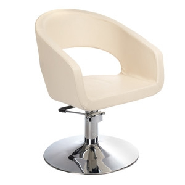 Fotel Fryzjerski Paolo BH-8821 Kremowy #1