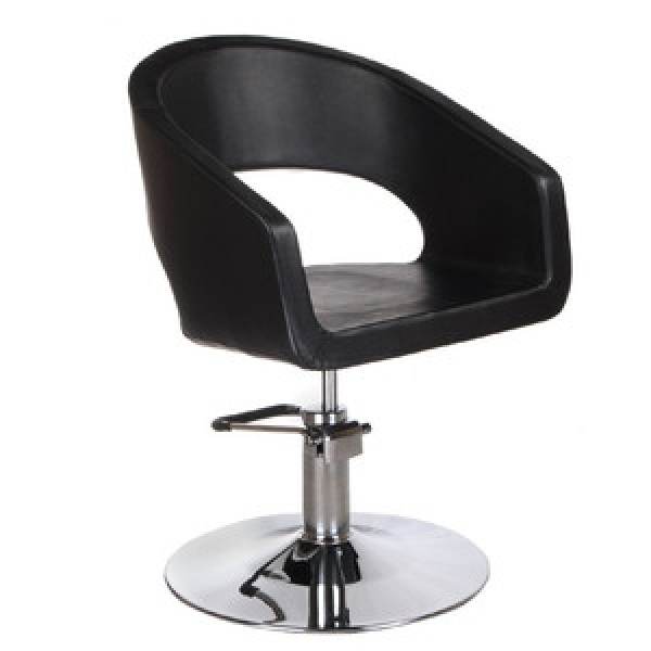Fotel Fryzjerski Paolo BH-8821 Czarny #1