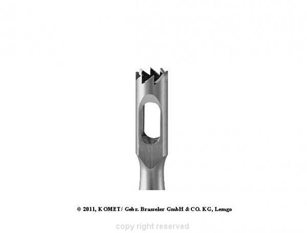 Frez Nożowy Trepan Bruzdy Modzele Odciski (224rf.104.027) #1