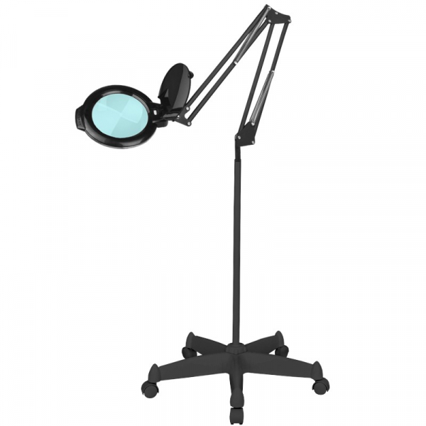 "Lampa Lupa Led Moonlight 8012/5"" Black Ze Statywem #1"