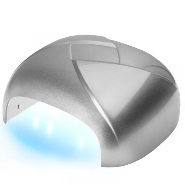 Lampa Twister Uv Dual Led 36w Timer + Sensor Srebrna #1