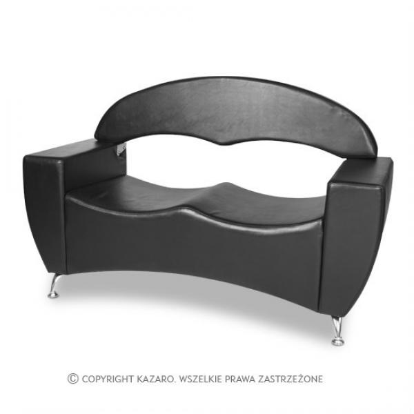 Sofa Elite 2os., Czarna #1