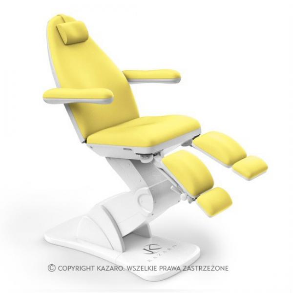 Fotel Podologiczny Vario Żółty #1