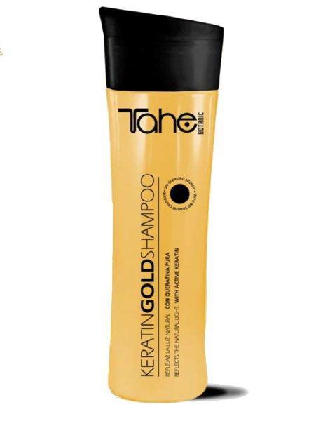 Tahe Szampon Regenerujący Do Włosów Zniszczonych Gold Shampoo, 300 ml #1