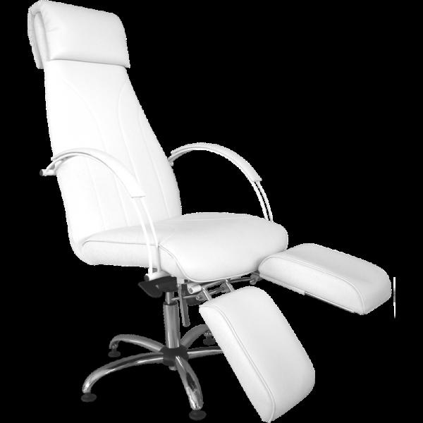 Fotel Do Pedicure Z Dzielonym Podnóżkiem #1