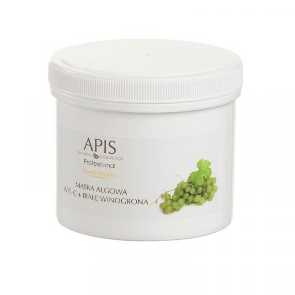 Apis Vitamin Balance Maska Algowa Wit. C + Białe Winogrona, 250g #1