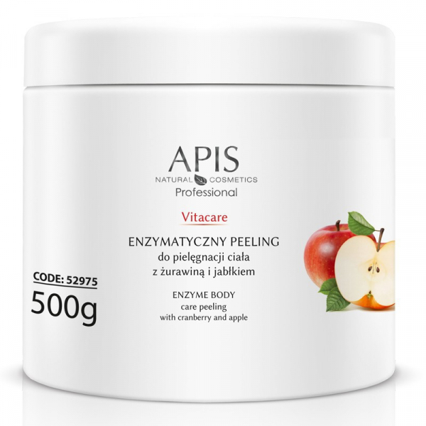 Apis Vitacare Enzymatyczny Peeling Z Żurawiną I Jabłkiem, 500g #1