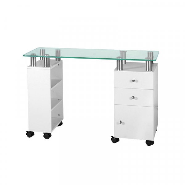 Biurko Glass 013C Białe #1