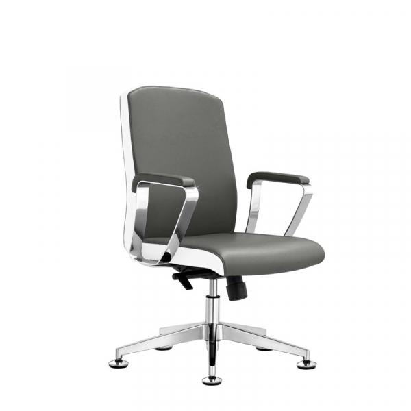 Fotel Kosmetyczny Rico B1501 Szaro-Biały #1