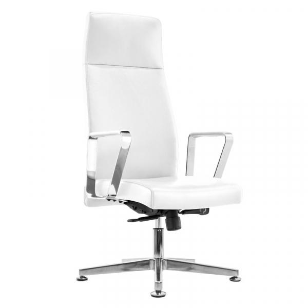 Fotel Kosmetyczny Rico 156 Biały #1