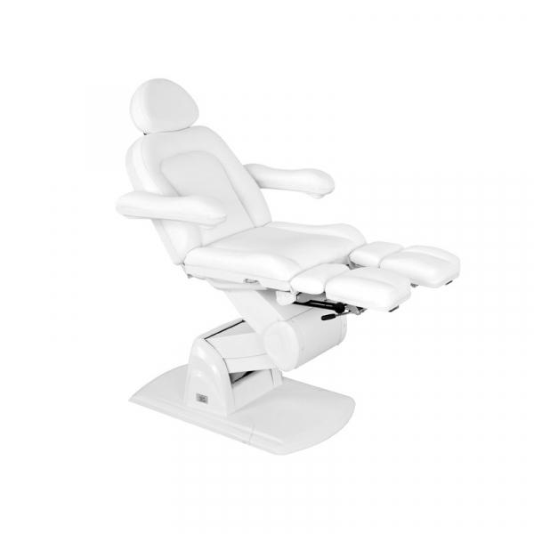 Fotel do pedicure Elektryczny Fabio Biały #1