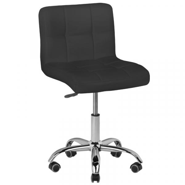 Krzesło Kosmetyczne A-5299 Czarne #1