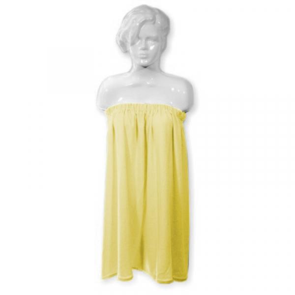 Peleryna Frotte Żółta 6 #1