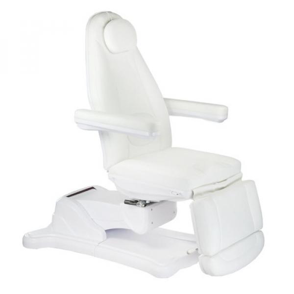 Elektryczny fotel kosmetyczny Mazaro BR-6672B Biał #1