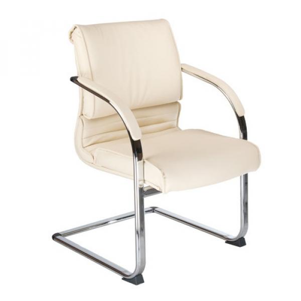 Fotel Konferencyjny Corpocomfort BX-3339B Kremowy #1
