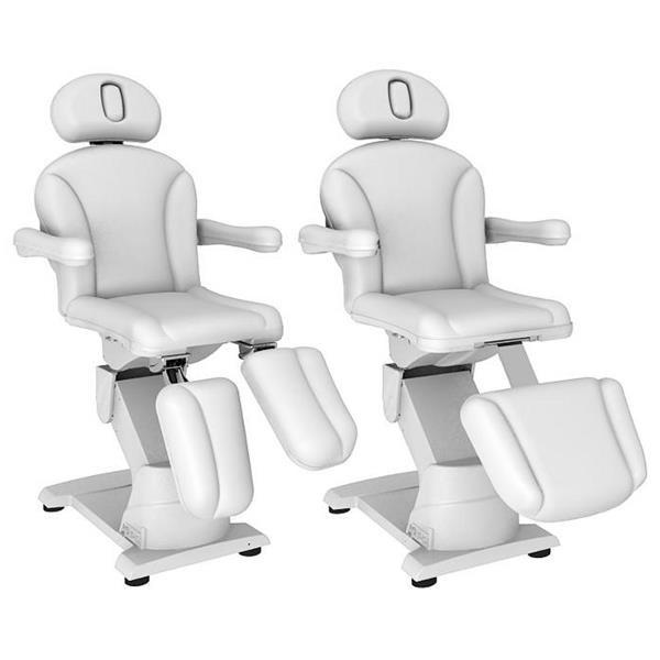 Fotel kosmetyczny elektryczny 2w1 optima #12