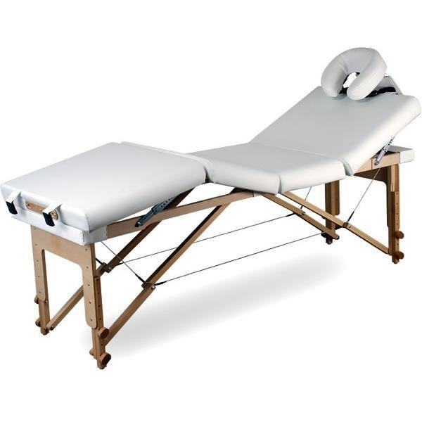 Stół Do Masażu Przenośny Składany Basic 3 Plus #1