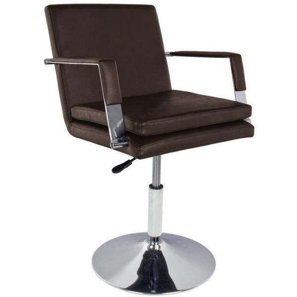 Gabbiano Fotel Fryzjerski 049 Brązowy #1