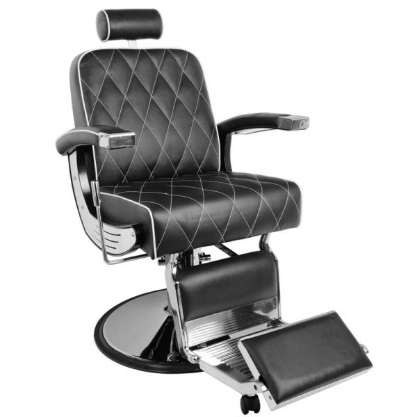 Gabbiano Fotel Barberski Imperial Czarny #1