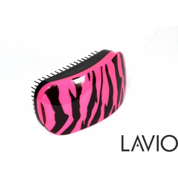 Szczotka Detangler Short Pink Zebra #1