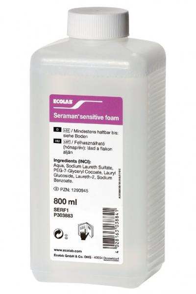 Seraman sensitive foam, 800 ml #1