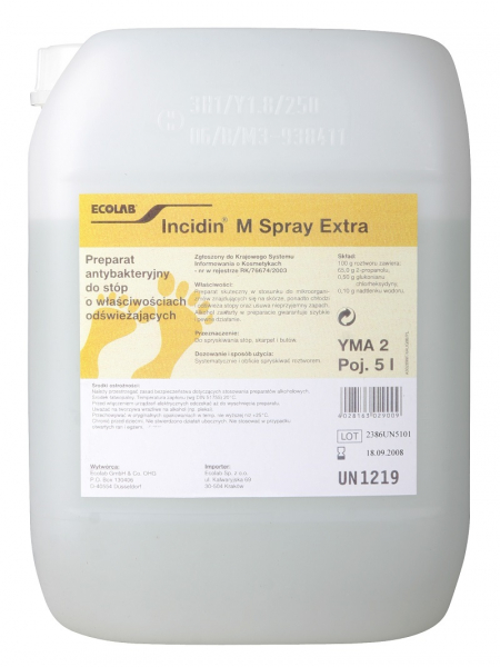 Incidin M Spray Extra, 5l #1
