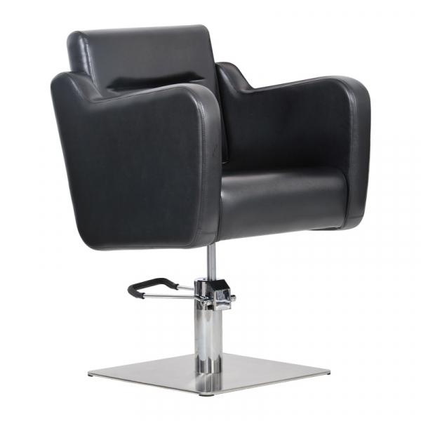Fotel Fryzjerski Lux Czarny #1