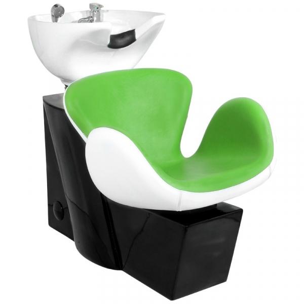 Gabbiano Myjnia Fryzjerska Amsterdam Zielono-Biała #1