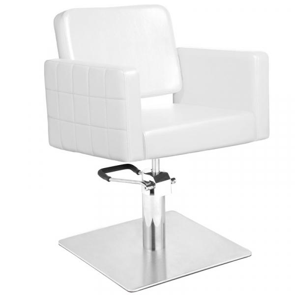 Gabbiano Fotel Fryzjerski Ankara Biały #1
