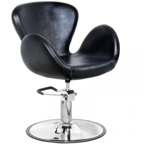 Gabbiano Fotel Fryzjerski Amsterdam Czarny #1