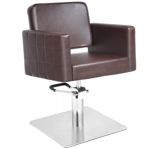 Gabbiano Fotel Fryzjerski Ankara Brązowy #1